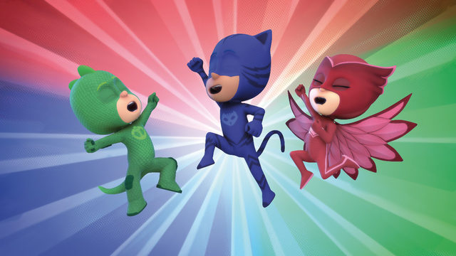 pj masks catboy and the great birthday cake rescue on tiny pop